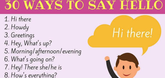 30 Different Ways to Say «Hello»