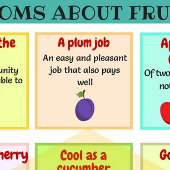 27 Useful Fruits Idioms with Examples
